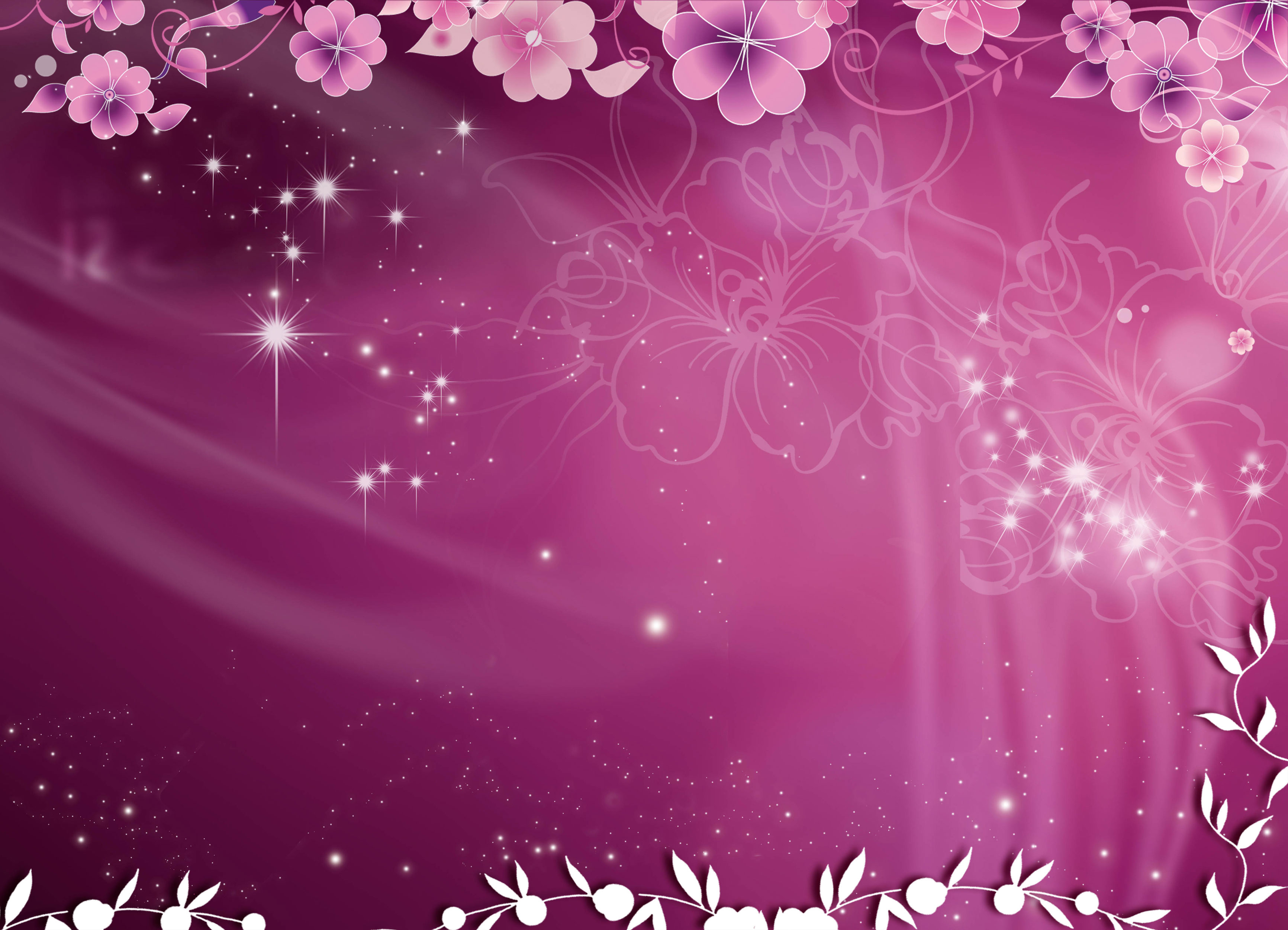 Flower PowerPoint Templates and Backgrounds for Your